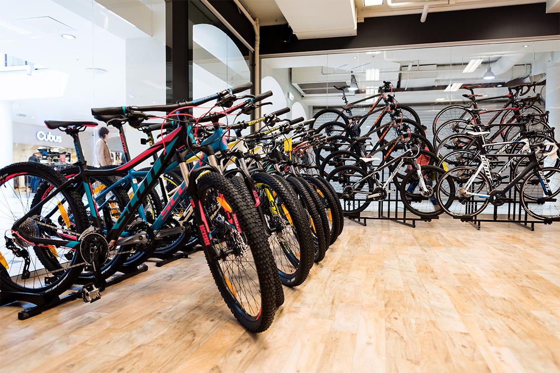 Bilde av sykler hos Sport 1 Skien - Arkaden