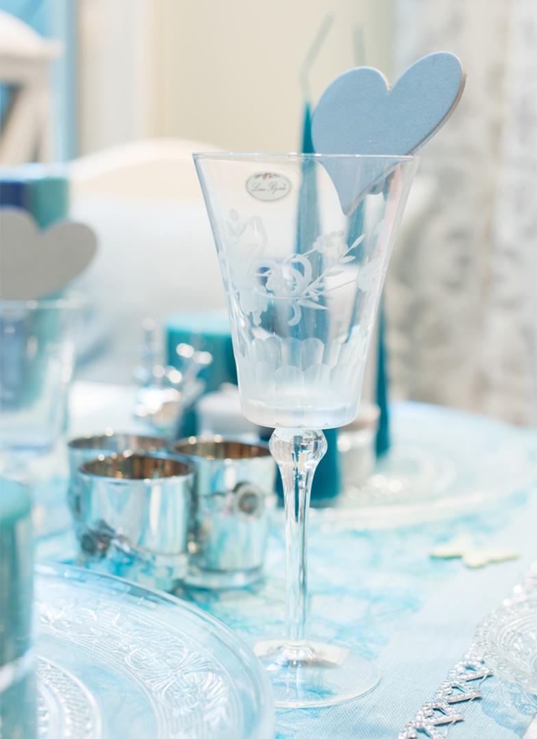 Bilde av glass fra Liland