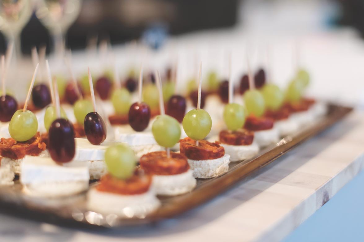 Bilde av tapas som ble servert på kundekvelden