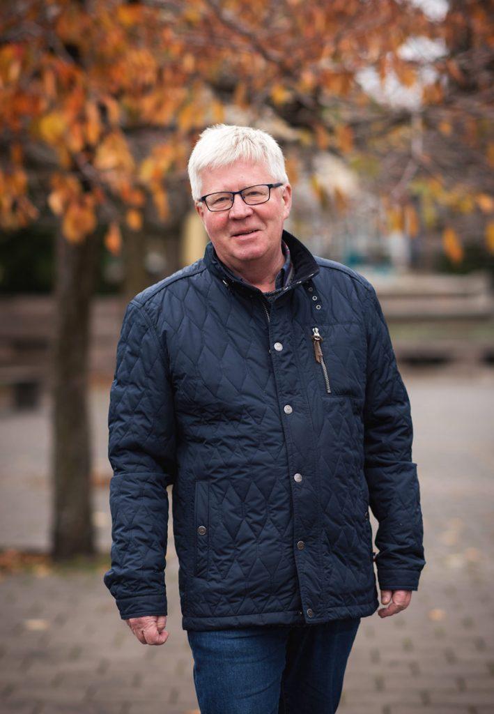 Knut Wille, daglig leder i Kontorbygg