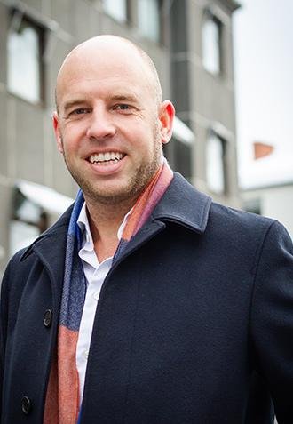 Bilde av styreleder i R8 Group AS, Emil Eriksrød