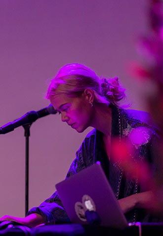Minikonsert med Ida Stein fra Sandefjord